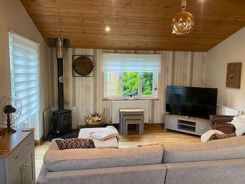 The hideaway Lovely home from home 2 bedroom lodge