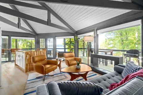 Modern Lake Barkley Treehouse Cabin