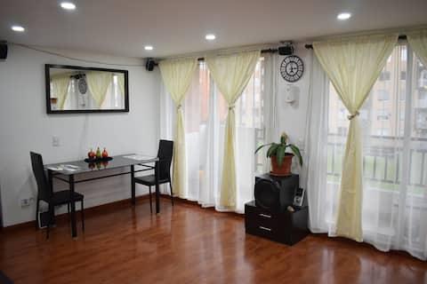 Confortable habitación en Zipaquirá