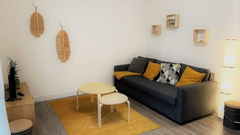 Maison indépendante au calme avec jardin et garage