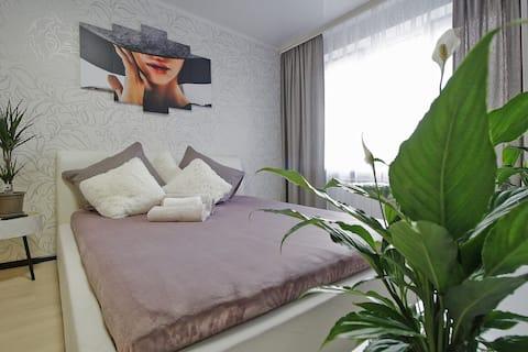Двухкомнатная квартира в центре Калининграда