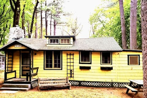 Vintage Retro Cabin BLAST FROM THE PAST