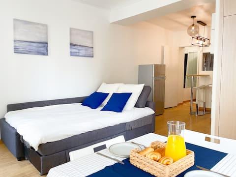 Modern apartment center Paris - near to Marais
