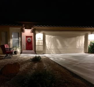 The lighting is bright enough to see out front in the driveway as well as the walkway to the entrance.