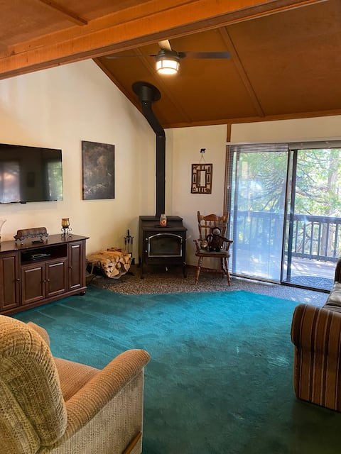 Wesley's Wonderland - Shaver Condo with large deck
