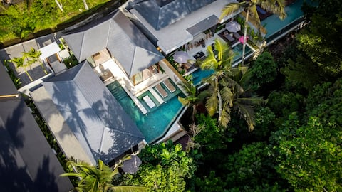 Archi 3 bdr Brand New Villa w/ Pool & Jungle View