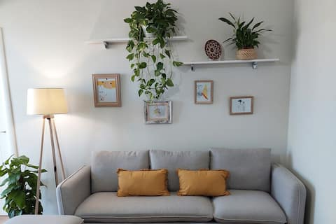 Brand new flat [center/fully equipped/comfy]