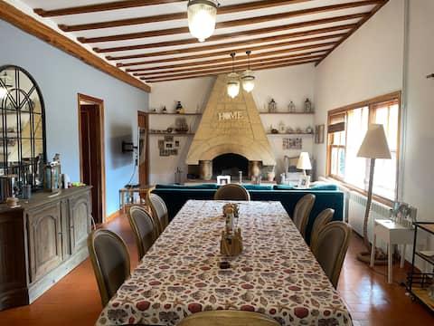 Cómoda casa con chimenea en la DO Ribera del Duero