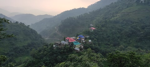 A beautiful peaceful place in Himachal Pradesh