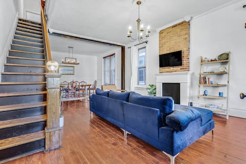 The Swallow House - Midtown HBG, River Views, 3BR