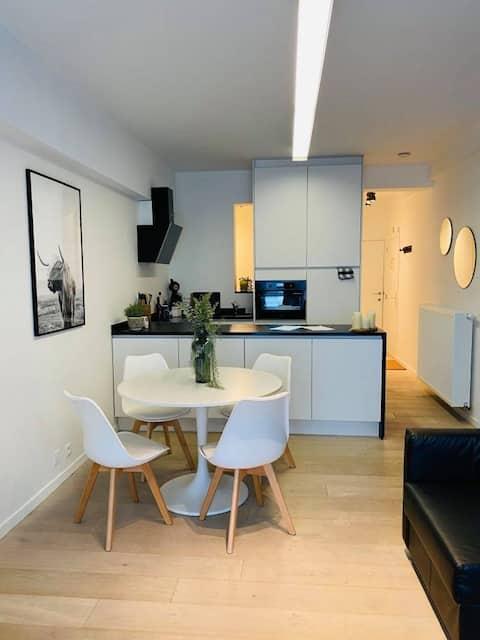 Schitterend appartement op 30 meter van het strand