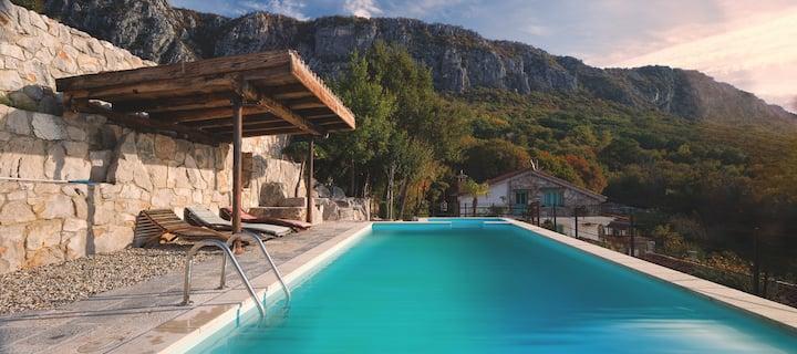 Eco villa Mirabilis/ hidden gem / magnificent view