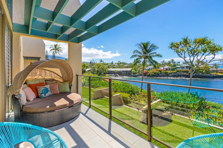"OCEANFRONT CABANA ""PEOPLE'S CHOICE"" turtle bay!"