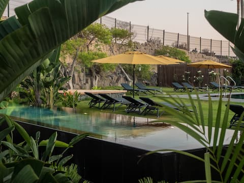 Hot pool, sea, wifi pro, gas barbecue, garden, 09