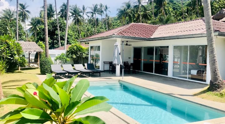 3 BR Comfort Villa+private pool - 6 pers - Lamai