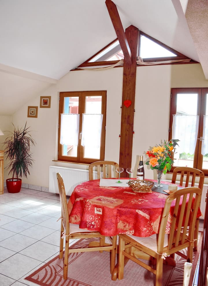 Rental : The Blue House in Alsace