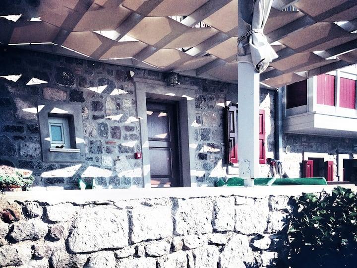 Maisonette with sea view - Molyvos, Lesvos