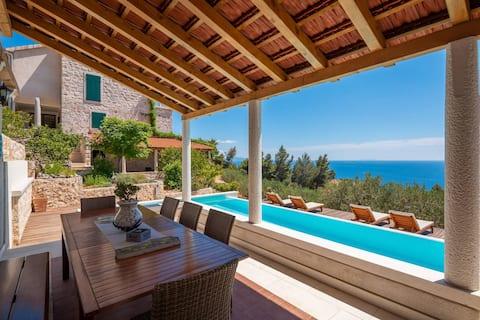 One bedroom eco-friendly amazing view villa flat