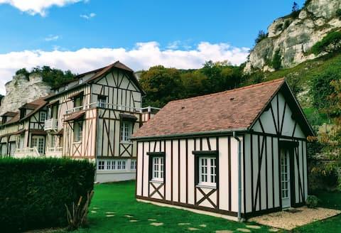 Casa pequeña junto al Sena
