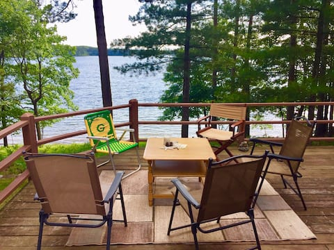 North Woods Pristine Lake Paradise!