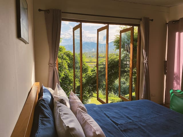 There is a nice view from your bedroom.