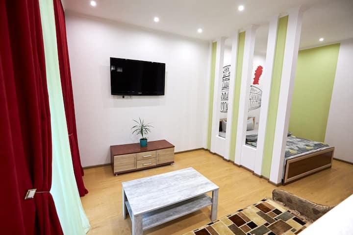 Rivne, center, apartment, Wi-Fi,