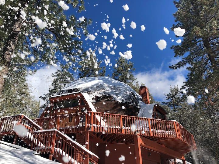 Geo Dreams! Mid-Century modern geodesic dome cabin