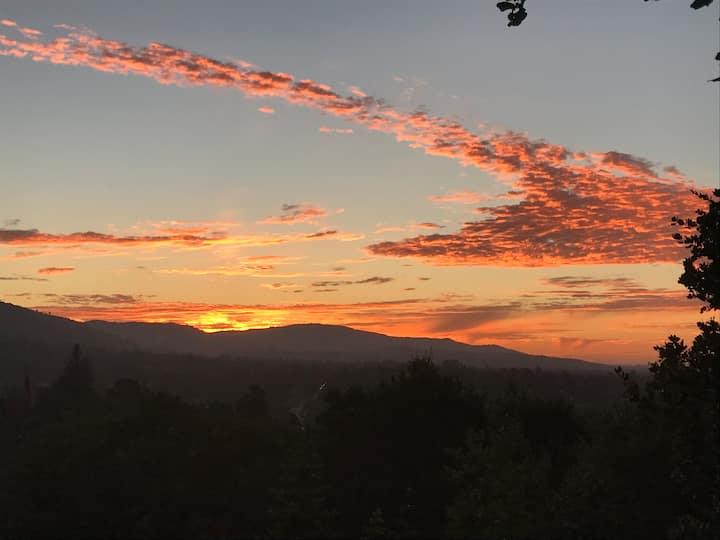 Escape to Beautiful Los Gatos Hillside Home, Views