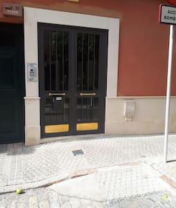 No step to enter the building
