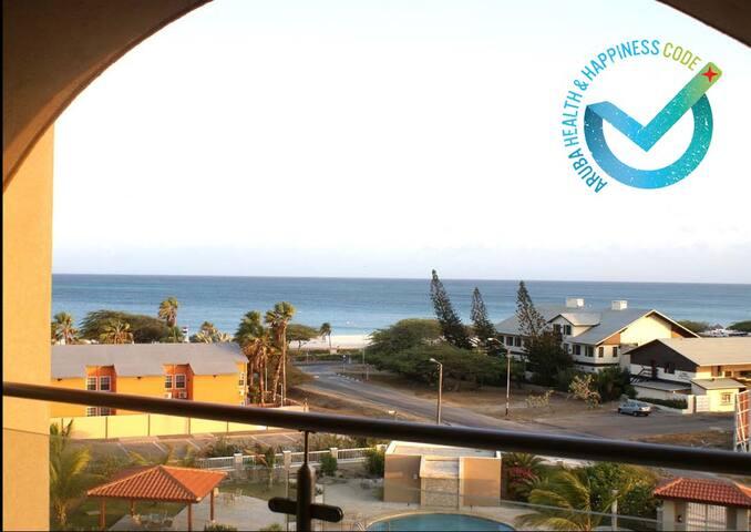 5th Floor Ocean View at Eagle Beach Aruba