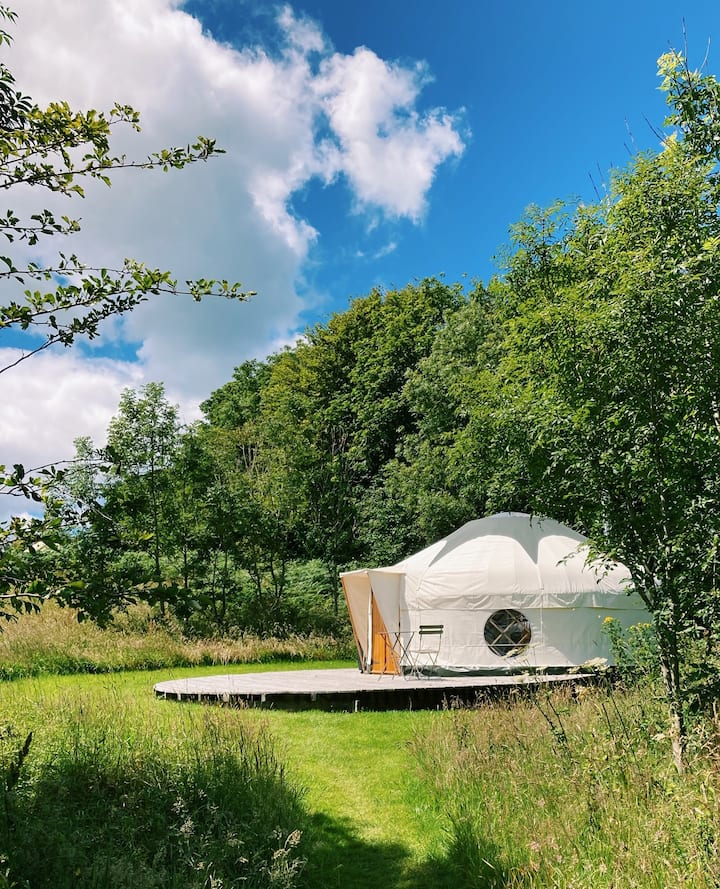 Yurts Cornwall - Tremeer Farm