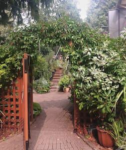 A Garden Hideaway in Sooke