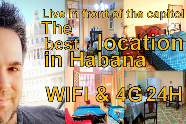 Apartment Capitol Old Havana & Center WIFI 4G