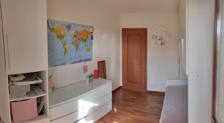 Room in great and new apartment