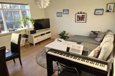 Room for 1 pers. in a cozy apartment in Reykjavik