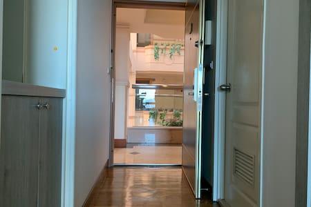 Trappefri adkomst til inngangen