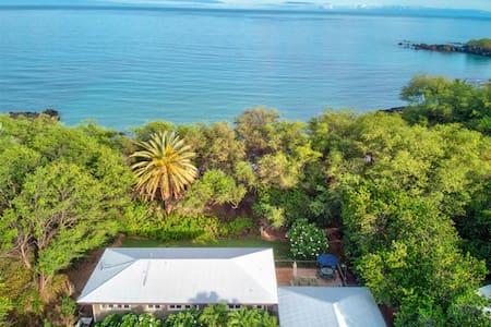 Lalamilo Beach House - Beachfront Paradise
