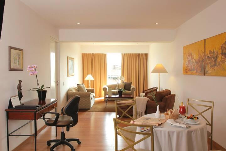 Furnished apartment in Santiago de Surco