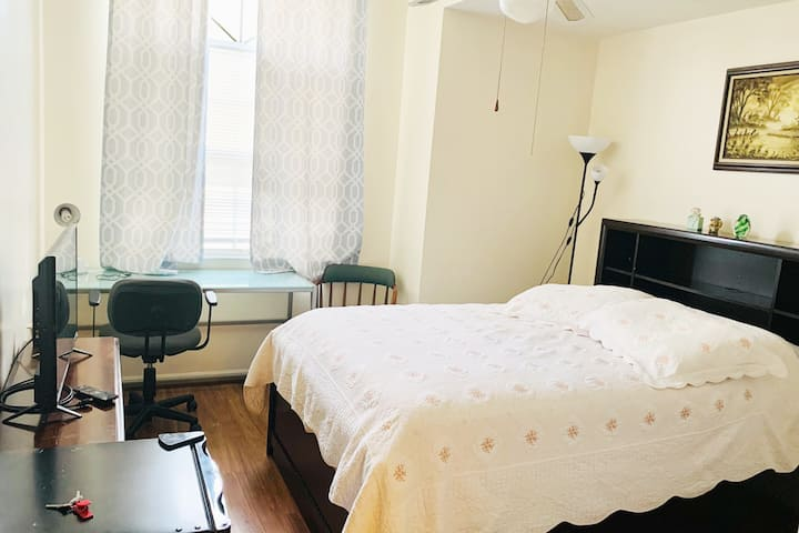 Private comfortable Room Near Wickham Park, LA fit