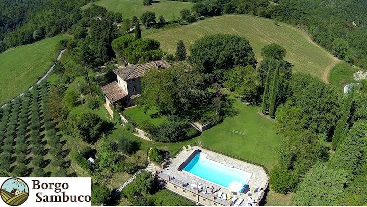 'Borgo Sambuco' Holiday home in Umbria