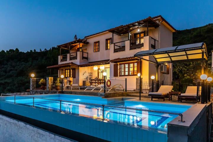 Villa Peparethos! Enjoy Zoe's Kitchen...