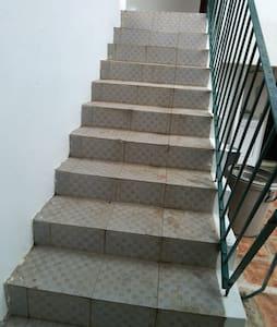 Ingen trapper eller trinn å gå inn i
