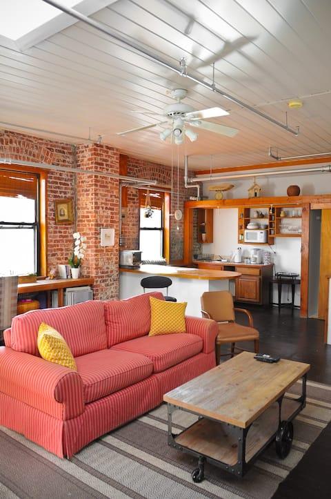 Unique Port Chester loft space.