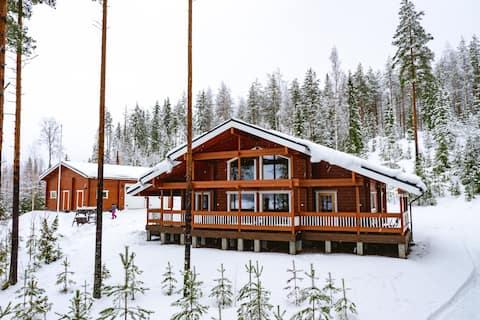 Villa Maaria log house 6+6,Saimaa area