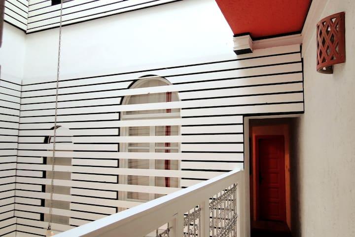 balcon étage 1