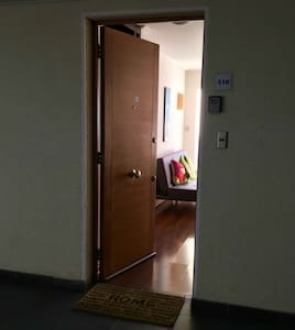 Puerta de acceso a la unidad