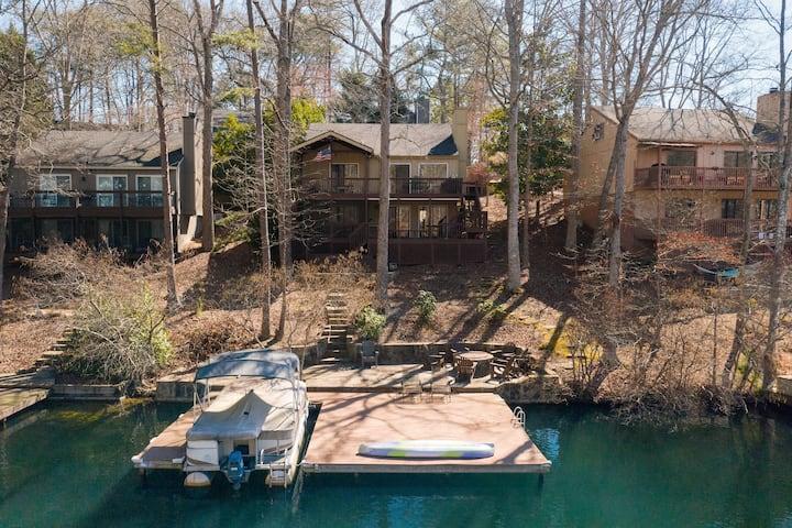 Lake Arrowhead GA Lake House