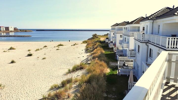 Beach house right on the beach