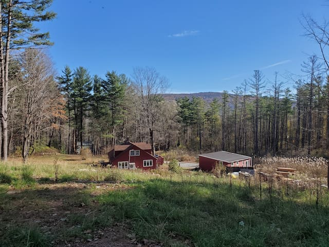 Retreat With 5 Private Acres--Close to Everything