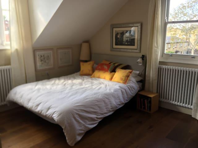 Sunny Kingsize Bed/Ensuite Zone2 Clapham Common